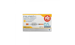 PIC Insumed Strzykawka insulinowa-0,5 ml 31G x 8 mm