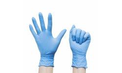 NOVAMA WHITE G-PROTECT Rękawice nitrylowe bezpudrowe R. XS