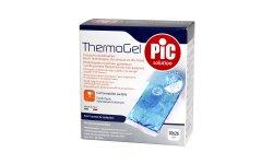 PIC Thermogel-17cmx30cm | na kolana ze specjalnym bezpiecznym pokryciem i paskiem