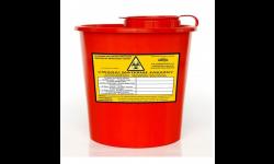 Pojemnik na odpady szpitalne 2 litry