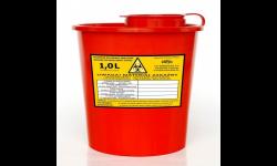 Pojemnik na odpady szpitalne 1 litr