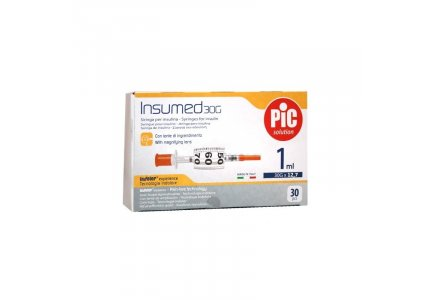 PIC Insumed Strzykawka insulinowa-1 ml 30G x 12,7 mm
