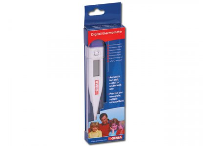 GIMA DIGITAL THERMOMETER °C - hang box