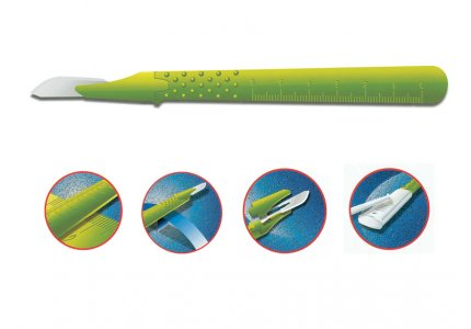 GIMA DISPOSABLE SCALPELS N. 12 - sterile