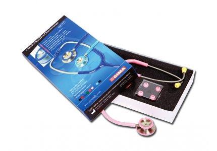 GIMA CLASSIC DUAL HEAD STETHO - Różowy