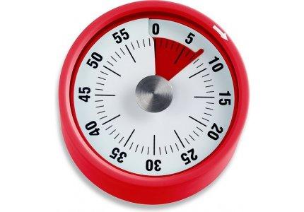 Mechaniczny minutnik kuchenny TD1709 czerwony