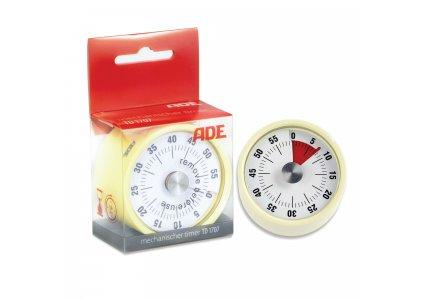 Mechaniczny minutnik kuchenny TD1707 żółty
