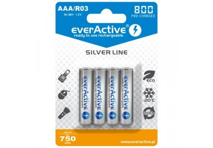 everActive Silver Line R03/AAA