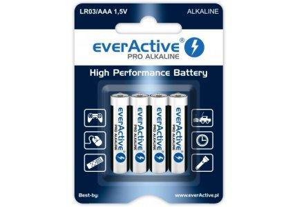 everActive LR03/AAA Pro Alkaline 4 szt