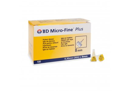 BD Micro-Fine PLUS 0,30 x 8 mm