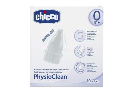 Chicco Physio Clean Końcówki