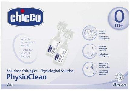 Chicco Physio Clean ampułki 2ml-20 sztuk