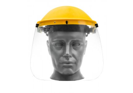 Osłona twarzy z pleksi FS805 / opk. 60 szt