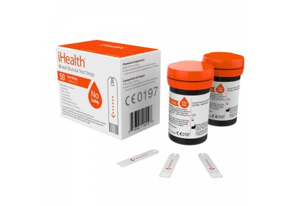 iHealth Codeless Blood Glucose Test Strips