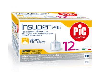 PIC Insupen -29G 0,33 x 12mm