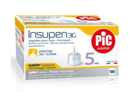 PIC Insupen -31G 0,25 x 5mm