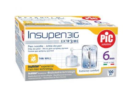 PIC Insupen -31G 0,25 x 6mm