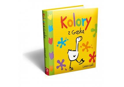 Książeczka dla dzieci KOLORY Z GĄSKĄ