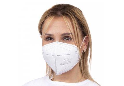 Maska, Certyfikowana półmaska FFP2 EN149:2001 z grafenem 40 szt (5,90 PLN za 1 szt)