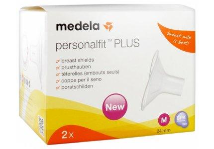 MEDELA Personal Fit Plus rozmiar M (24mm)/ 2 szt.