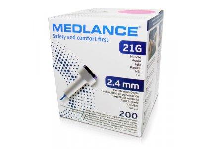 Nakłuwacz MEDLANCE 2,4 mm 200 sztuk