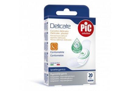PIC Delicate Plastry-Medium 19x72mm 20 szt.