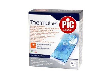 PIC Thermogel-10cmx26cm | ze specjalnym bezpiecznym pokryciem i paskiem/