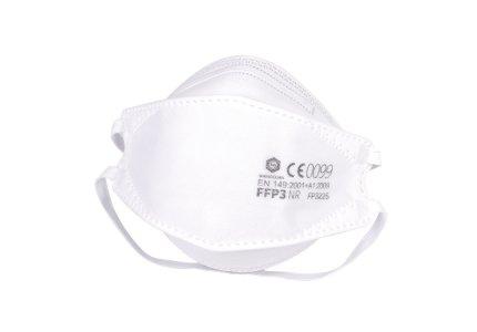 Maska FFP3 NR BMSS Willow Leaf-Shaped Certyfikowana FP3225 40 szt, 2 szt w folii