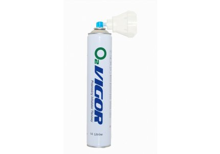 Tlen inhalacyjny skoncentrowany w sprayu