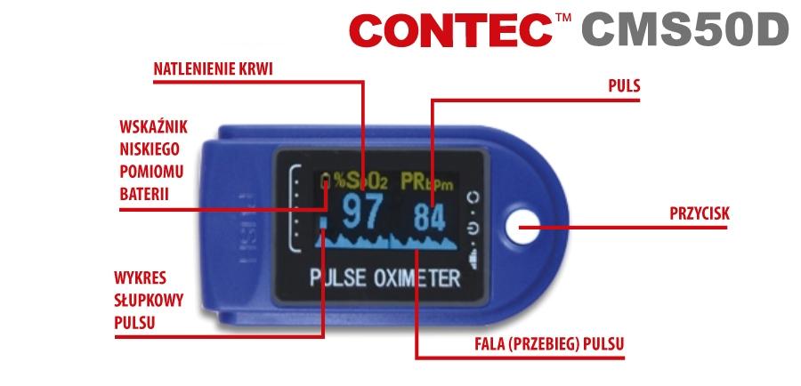 cms50D pulsoksymetr