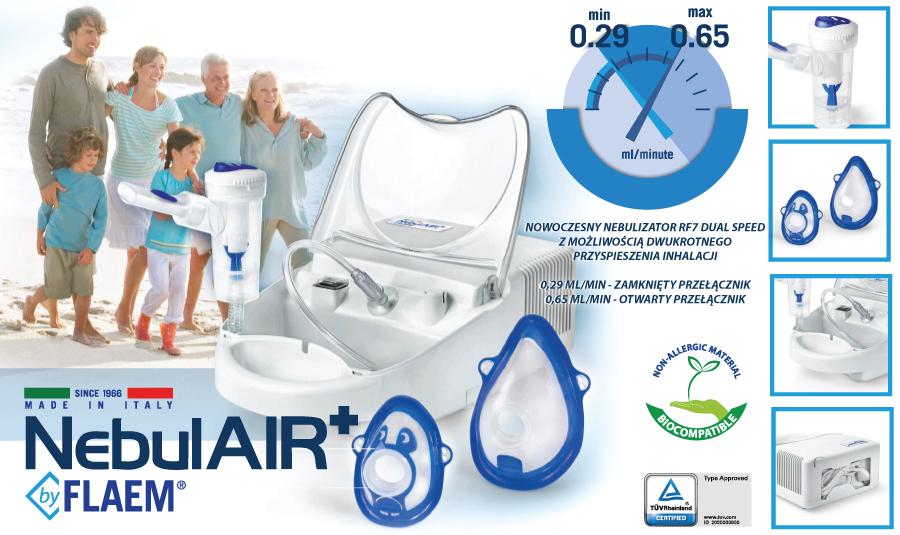NebulAir Plus inhalator FLAEM