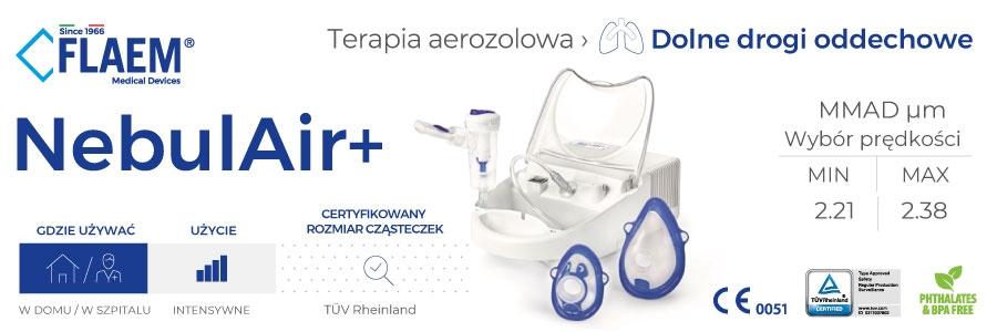 flaem NebulAir inhalator pneumatyczno-tlokowy