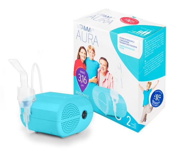 Inhalator rodzinny Vitammy Aura
