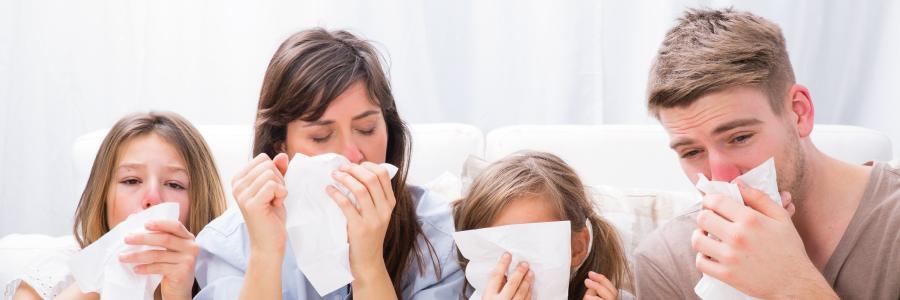 infekcje dróg oddechowych