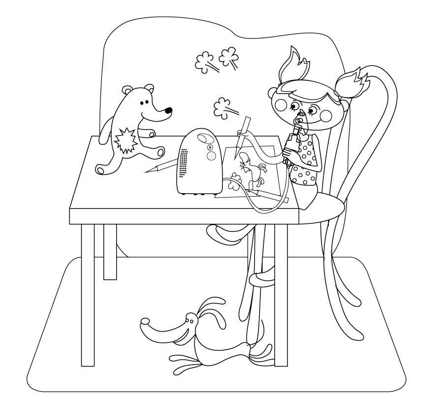 Nebulizacja i rysowanie