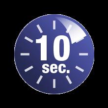 10 sekund