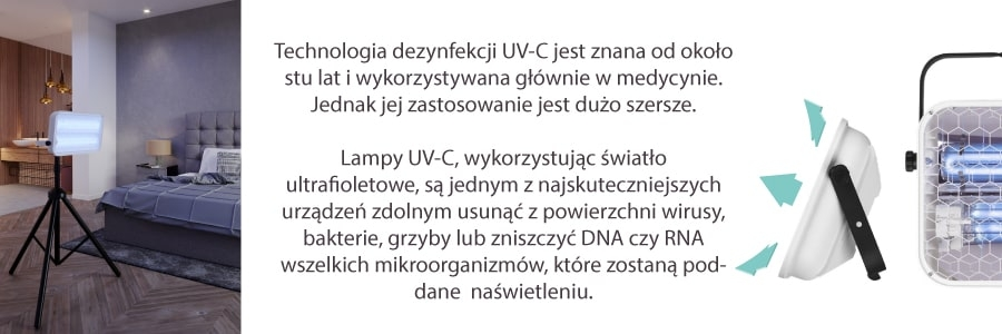 LAMPA UV-C LENA