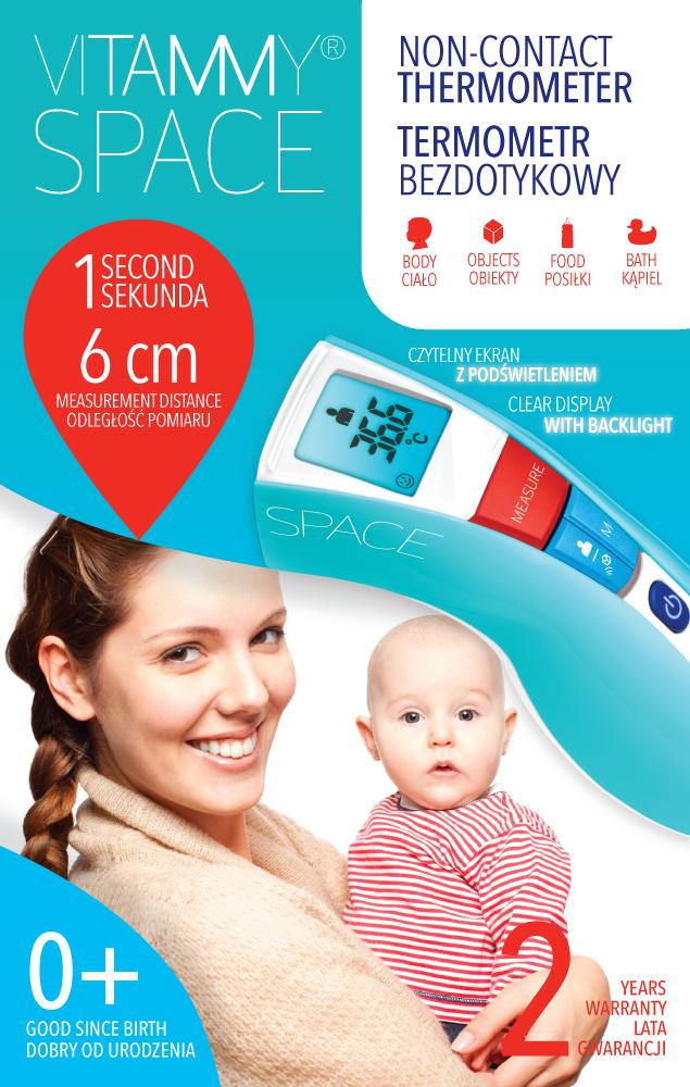 Bezdotykowy termometr Vitammy