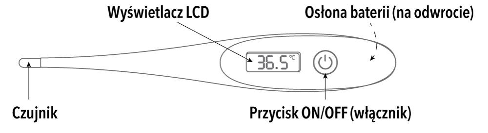 Rysunek termometru VITAMMY nano 1