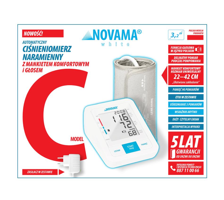novama white c