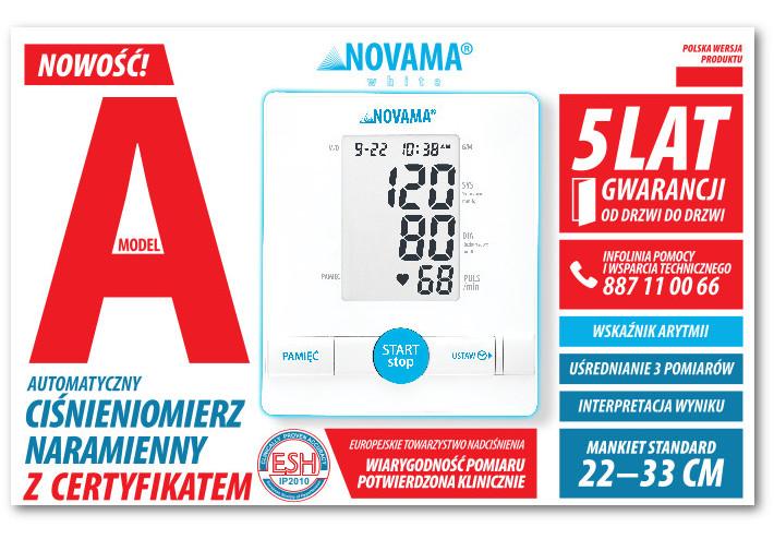 novama white a