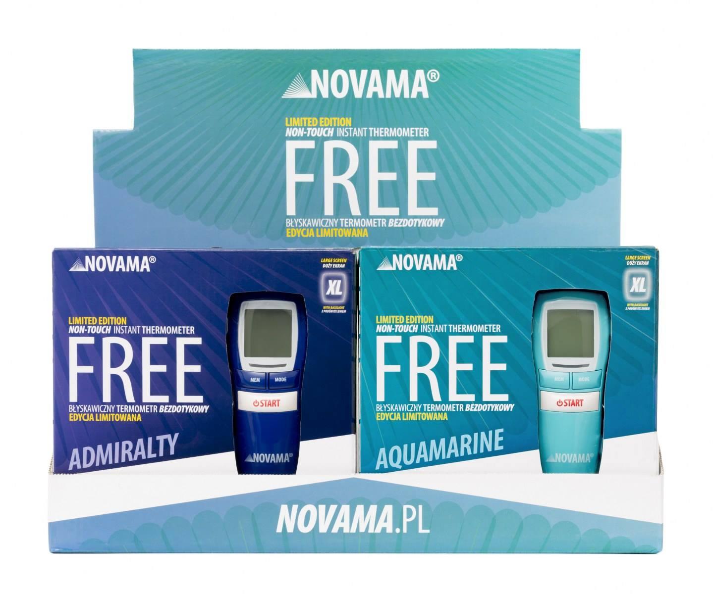 Ekspozytory Apteczne Termometrów NOVAMA Free