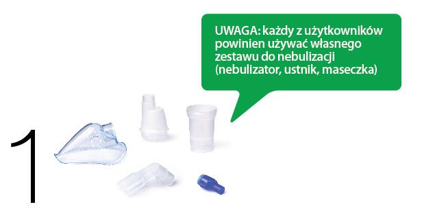 Akcesoria do inhalatora