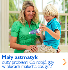 Mały astmatyk - co robić, gdy w płucach malucha coś gra?